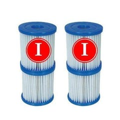 6 Pack Bestway Filter Cartridge Type I