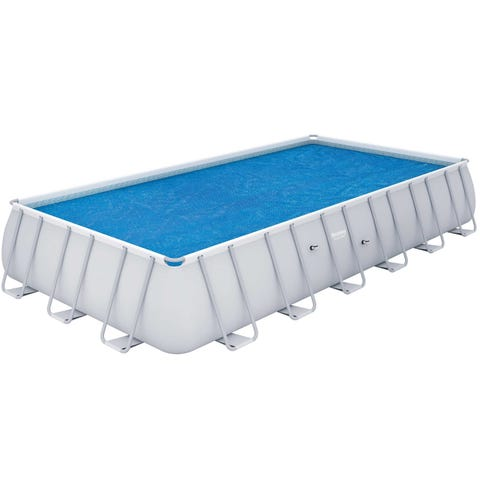 Bestway Flowclear 22ft x 12ft Above Ground Rectangular Pool Solar Cover