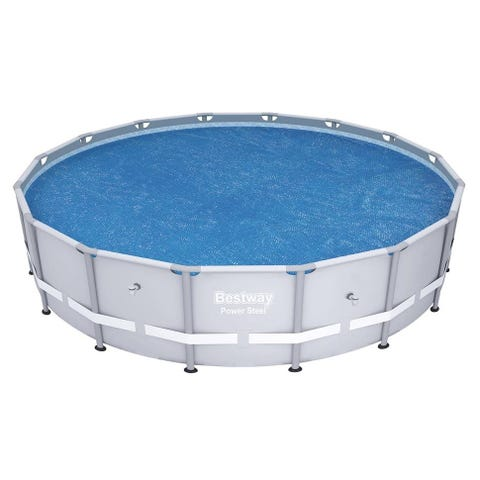 Bestway 16ft Above Ground Round Frame Pool Solar Cover