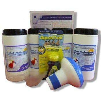 Chemical Starter Kit with Dispenser - Up to 12ft diameter