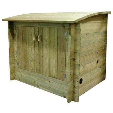 Wooden Plant Enclosure
